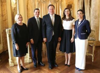 Presidente Varela designa a Carlos Rubio y a Gina Luciani de Sossa como ministro y viceministra de Gobierno