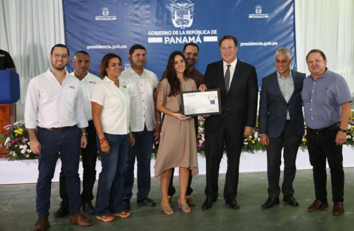 Gobierno avanza en proyectos de agua potable e infraestructura vial en Panamá Norte y Panamá Este por más de 240 millones de balboas