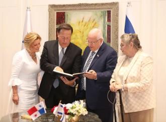 Presidente Varela inicia su visita en Israel con una reunión con el Presidente Israelí, Reuven Rivlin