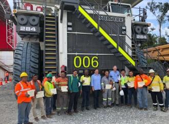 Presidente Varela complacido con la generación de 11 mil empleos y 73% de avance del proyecto Cobre Panamá