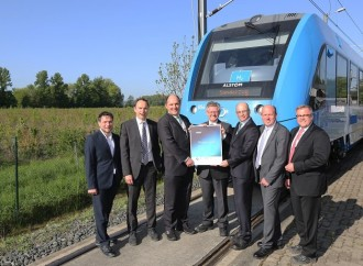 El tren de hidrógeno de Alstom gana el Premio de Movilidad GreenTec 2018