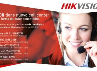 Hikvision se conecta con sus usuarios finales a través de su nuevo Call Center para América Latina