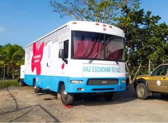 Clínica Móvil lleva atención de salud a residentes de Colón y la 24 de Diciembre