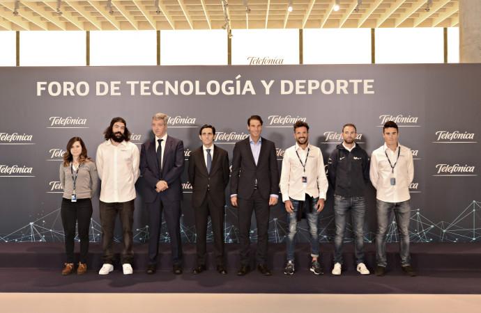 Telefónica y Deportistas de Élite explican las posibilidades de la tecnología aplicada a la competición