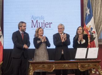 Presidente Piñera firma proyecto de Reforma Constitucional para impulsar equidad de género