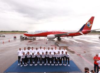Copa Airlines y La Sele inician juntos un histórico vuelo al Mundial de Rusia