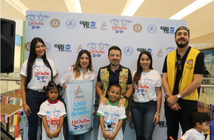 AltaPlaza Mall contribuye a multiplicar sonrisas en el marco delLechetón 20-30