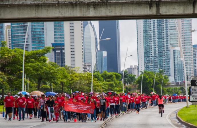 Panamá alza su voz y camina contra el trabajo infantil