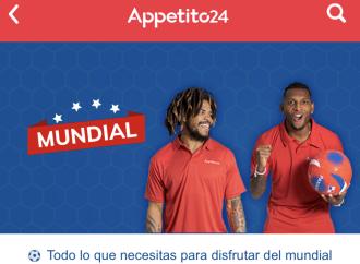 Appetito24 celebra el Mundial con un espacio exclusivo en el App para los fanáticos