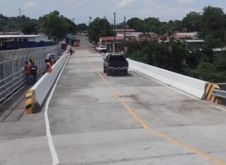 MOP culmina trabajos de construcción de puente Colmenar-Santa Marta