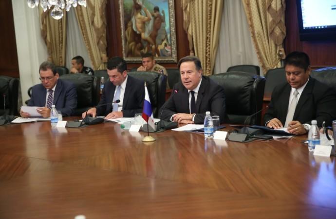 Panamá y Estados Unidos establecen diálogo de Alto Nivel en Materia de Seguridad