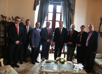 Presidente de la Cruz Roja felicita al Mandatario panameño por su liderazgo en iniciativas humanitarias