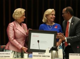 Primera Dama renueva su compromiso con la Cero Discriminación y destaca avances de Panamá en la lucha contra el VIH/SIDA