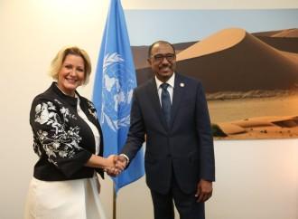 Primera Dama y Director de ONUSIDA coinciden en sumar a los jóvenes a lucha contra el VIH/SIDA y la discriminación