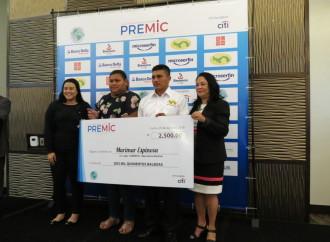 Microemprendedores panameños se destacaron en premiación PREMIC 2017-2018