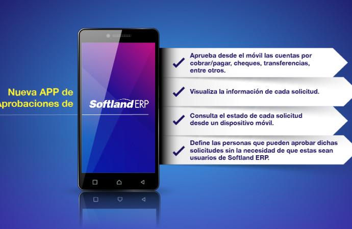 Softland lanza en Panamá su nueva solución móvil: Aplicación de Aprobaciones