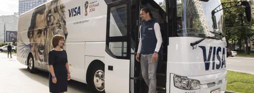 Zlatan Ibrahimović llega a Moscú con Visa para la Copa Mundial de la FIFA 2018