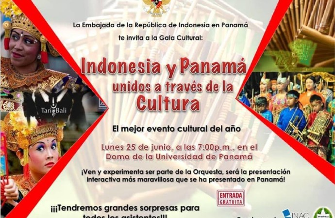 Indonesia y Panamá unidos a través de la cultura