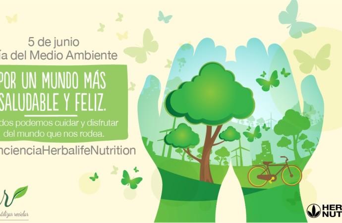 Herbalife Nutrition comprometida con el Cuidado del Medio Ambiente por un desarrollo sostenible
