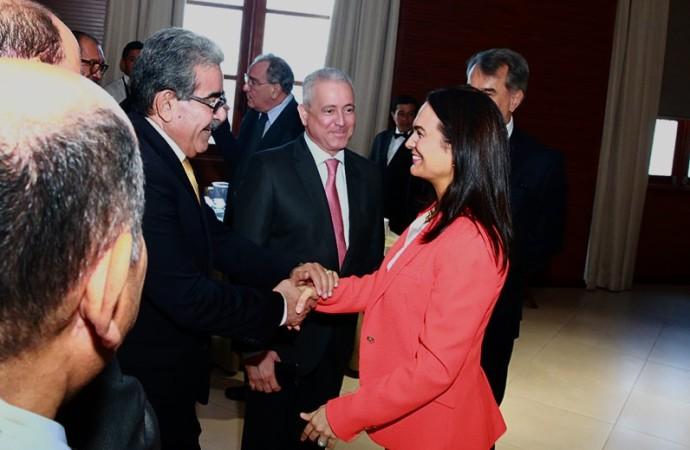 Vicepresidenta Isabel de Saint Malo comparte prioridades de la política exterior panameña conEmbajadores de América Latina