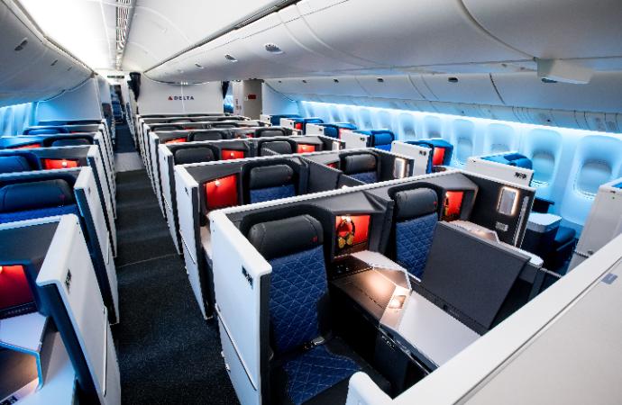 Delta enfatiza la comodidad del cliente con el primer 777-200ER actualizado