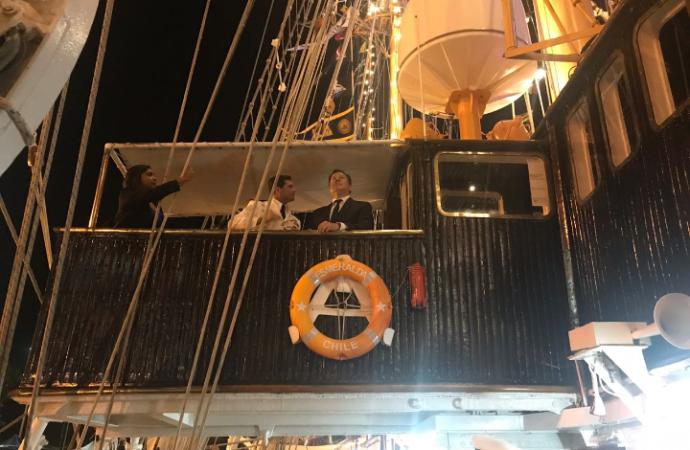 Presidente Varela da la bienvenida a representantes de escuelas navales a Panamá