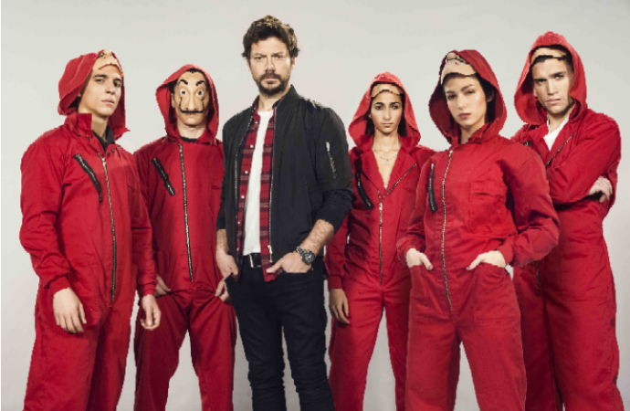 "Netflix y Alex Pina, creador de ""La Casa de Papel"", suscriben acuerdo exclusivo a nivel global"