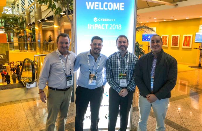 Directivos de Soluciones Seguras participaron del CyberArk Impact 2018