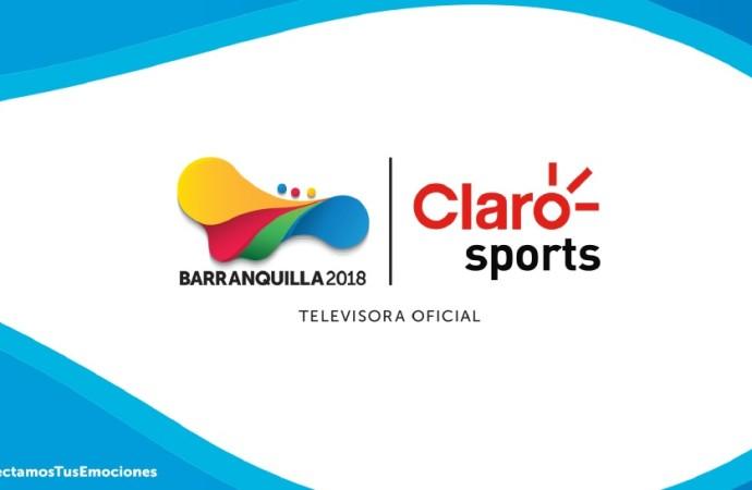 Claro Sports realizará más de 320 horas de producción durante losXXIII Juegos Centroamericanos y del Caribe