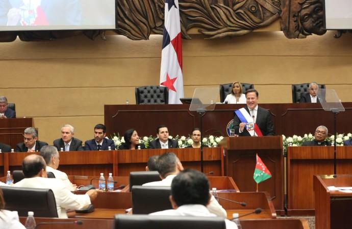 Discurso del presidente Juan Carlos Varela en la Asamblea Nacional