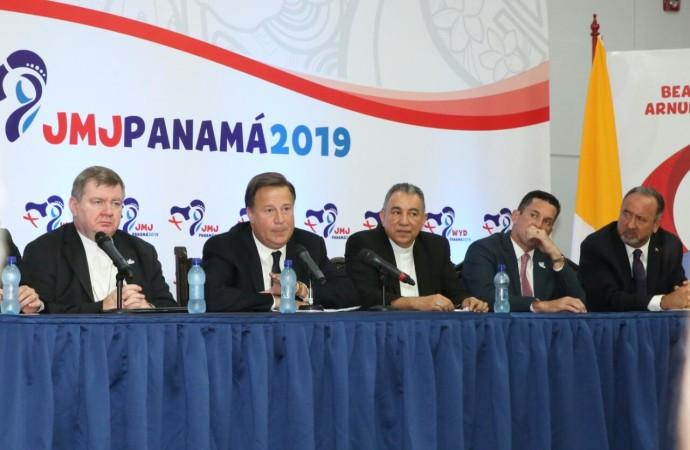 Papa Francisco confirma visita a Panamá para la JMJ 2019; Presidente Varela llama a trabajar unidos para el éxito de este evento