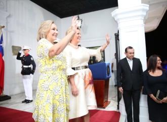 Primera Dama de Panamá y su homóloga de Chile estrechan lazos de cooperación y amistad