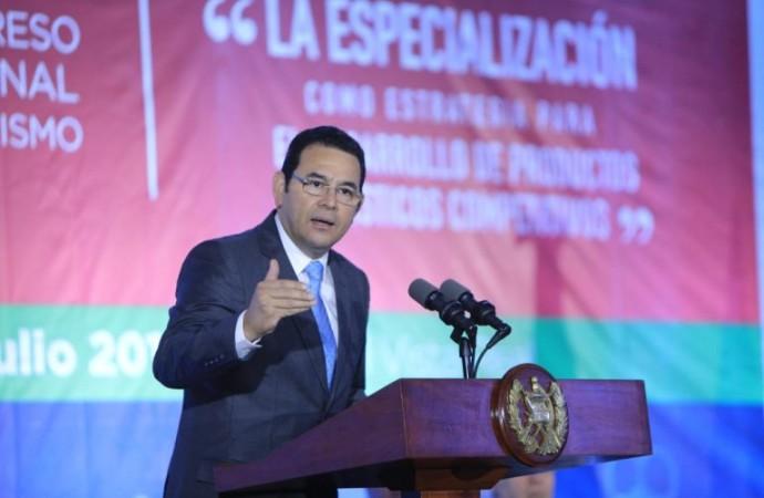 Guatemala:El Presidente Morales inaugura XI Congreso Nacional de Turismo