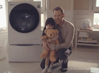 LG compartió un conmovedor video donde se resalta la llamativa característica antialérgica de la tecnología Steam™