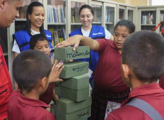 Voluntarios Samsung promueven losDerechos de los niños y niñas a través del juego