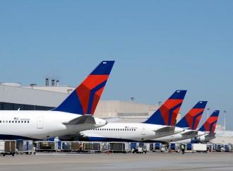 Delta Air Lines batió varios récords en julio