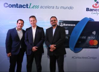 Banesco y Mastercard presentan Contactless: La forma de pago, sencilla, rápida y segura