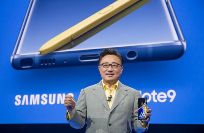 El nuevo y súper poderoso Galaxy Note9:para los que lo quieren todo