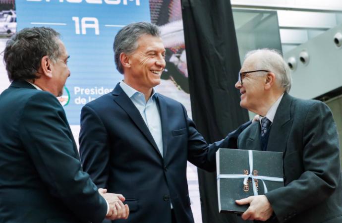 Argentina lanzará en septiembre elsatélite Saocom 1A, anunció el presidente Macri