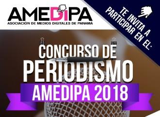 Abiertas inscripciones para el Concurso de Periodismo AMEDIPA 2018: Fortaleciendo el Periodismo Digital