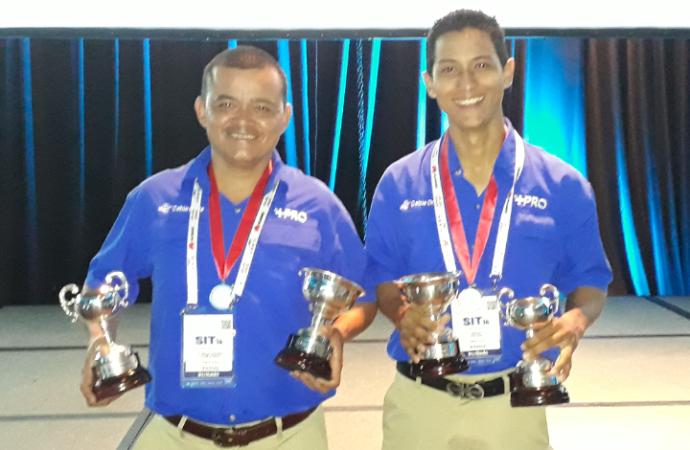 Técnicos y Contratistas de Cable Onda representarán a Panamá las Olimpiadas Técnicas Internacionales en abril 2019 en Argentina
