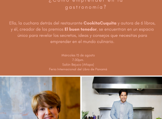 """En la #FILPanamá2018 estamos con """"Boca a boca: una aventura gastronómica"""""""