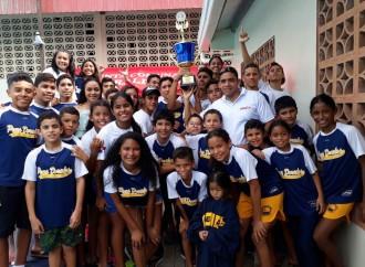 Destacada participación del Club de Natación Peces Dorados de Chitré