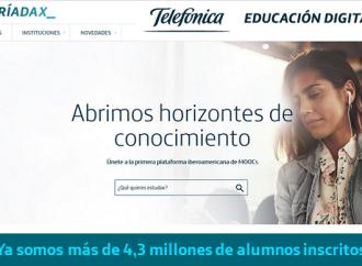 Miríadax convoca a nuevos cursos en línea