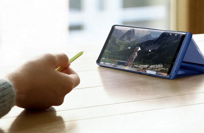 """DisplayMate: el rendimiento de la pantalla de Galaxy Note9 eleva la barra """"significativamente más alto"""""""