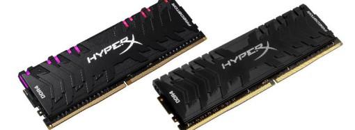 HyperX expande sus líneas Predator DDR4 RGB y Predator DDR4