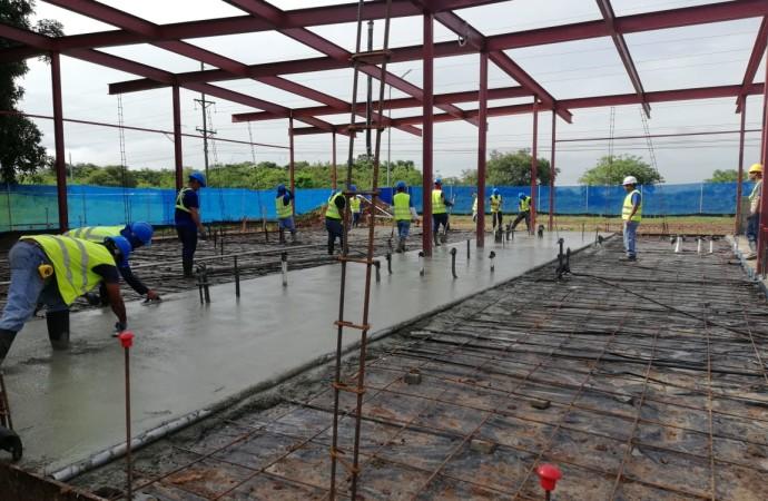 Primer Laboratorio Regional de Calidad de Agua alcanza un 35% de avance
