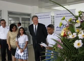 Presidente Varela destaca avances en materia educativa liderados por la ministra Marcela Paredes