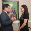 Vicepresidenta y Canciller Isabel de Saint Malo de Alvarado, recibió al Embajador de la República de Corea, Bahk Sahng-Hoon