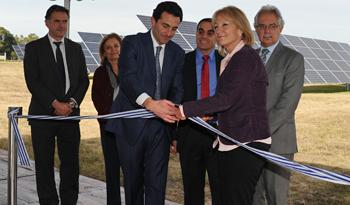 Aeropuerto de Carrasco en Uruguay es el primero en América Latina en inaugurar planta de energía renovable fotovoltaica